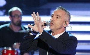 MAGDEBURG, GERMANY - MAY 16: Eros Ramazzotti during the television show 'Willkommen bei Carmen Nebel' on May 16, 2015 in Magdeburg, Germany. (Photo by Sebastian Willnow/Getty Images)